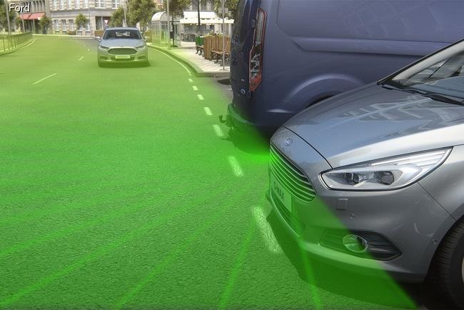 Европейские Ford`ы получат фронтальные камеры видеонаблюдения