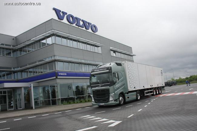 Новый Volvo FH: экономичность прежде всего