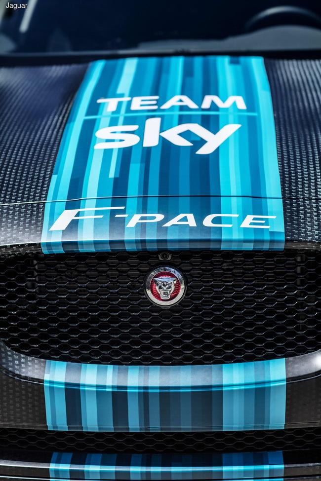 Jaguar F-Pace станет участником «Тур де Франс»
