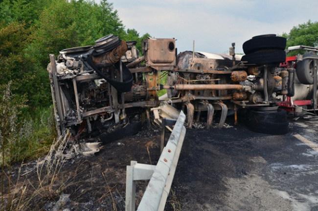 На трассе Киев – Чоп произошло масштабное ДТП