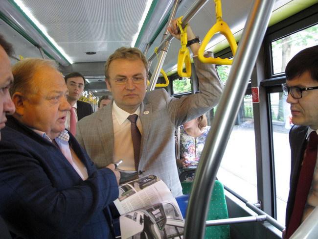 Украинцы поедут на трамваях «Электрон»