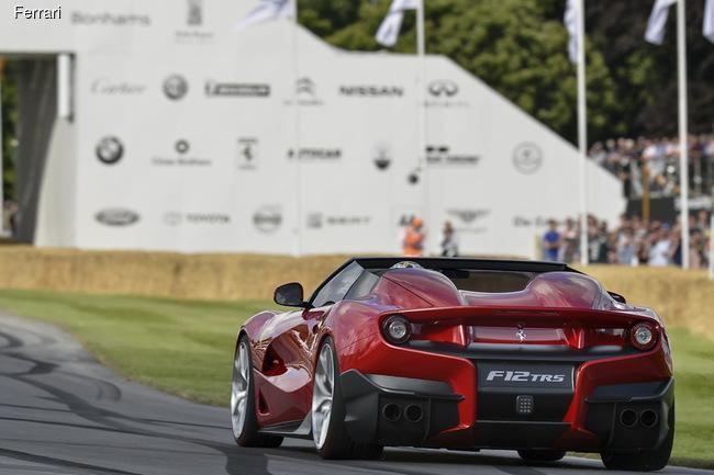 Ferrari пополнила коллекцию эксклюзивных суперкаров