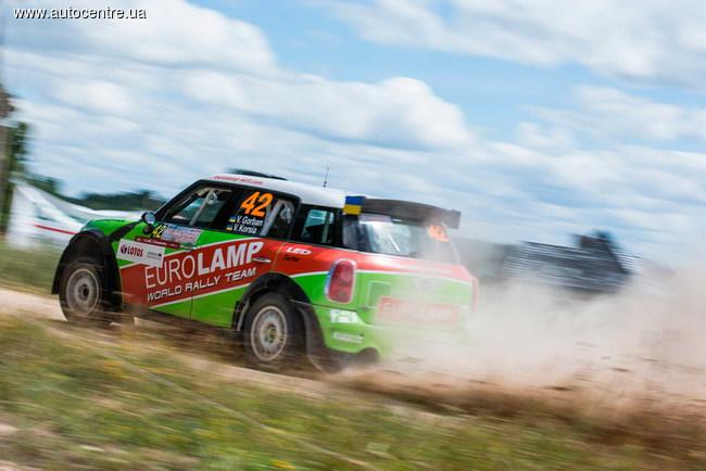 WRC: Украинский экипаж Валерия Горбаня/Владимира Корси был снят с гонки польской полицией