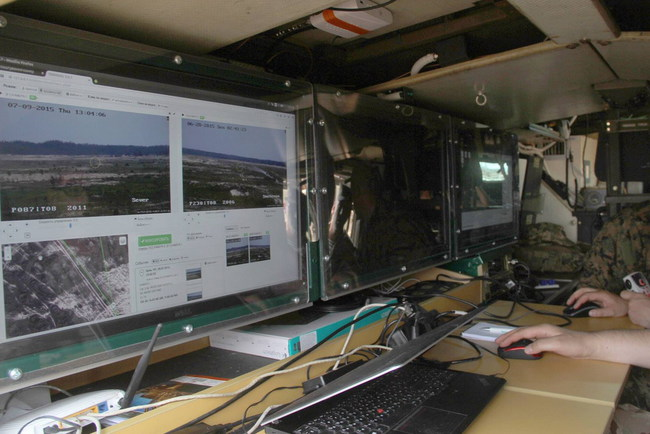 В Украине появился мобильный разведывательный комплекс