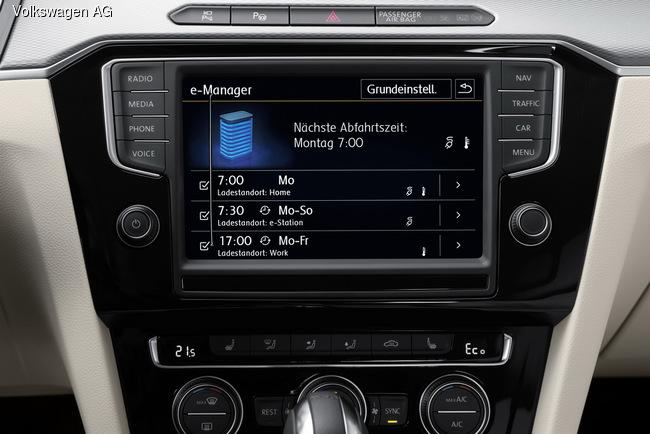 Гибридный подзаряжаемый VW Passat GTE запустили в серию