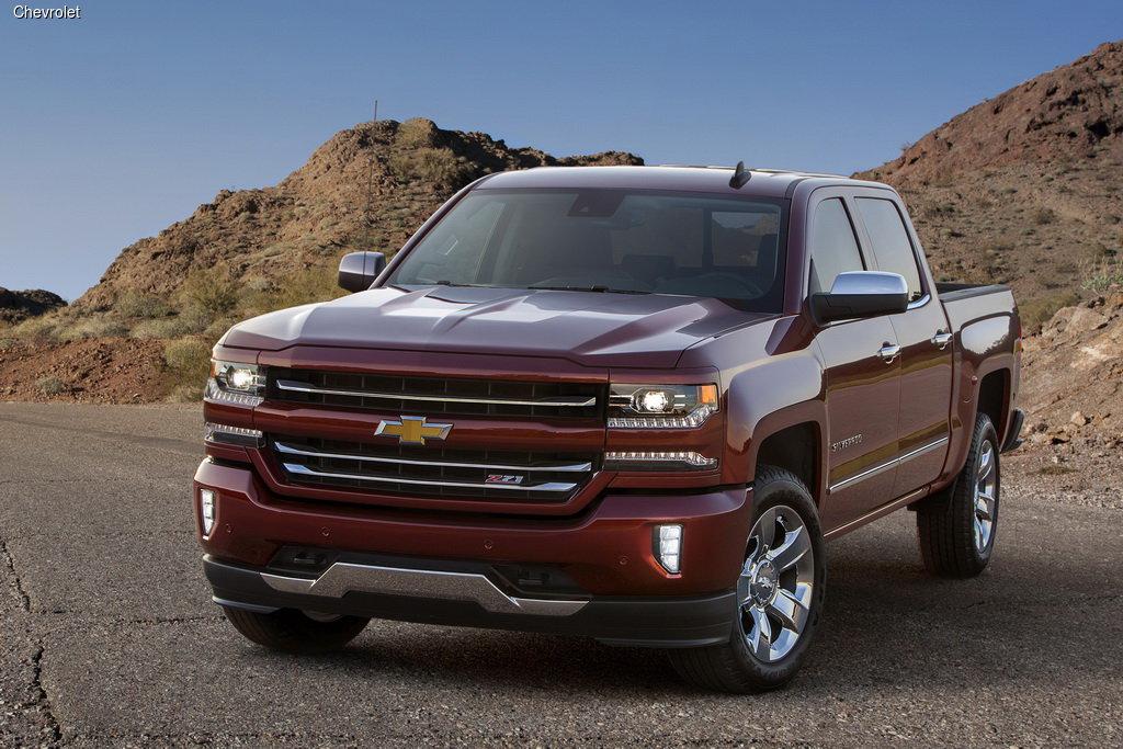 Chevrolet Silverado подвергся обновлению
