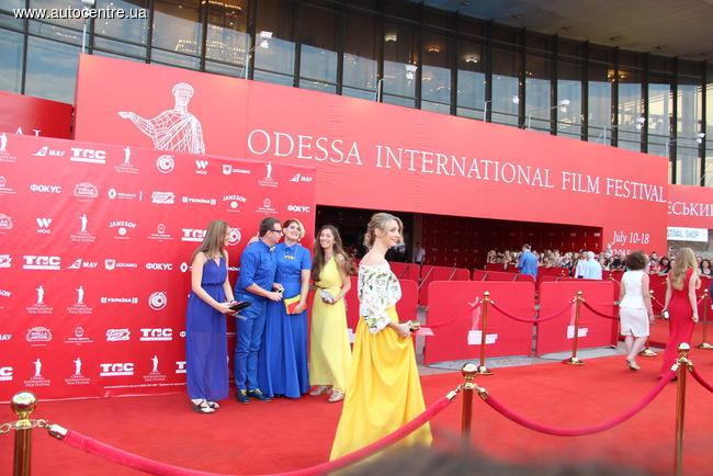 Гости кинофестиваля...