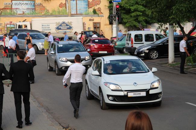 Renault на Одесском кинофестивале 2015: 6 лет вместе
