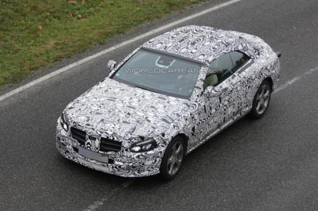 Дебют Mercedes-Benz C-Class Cabriolet все ближе