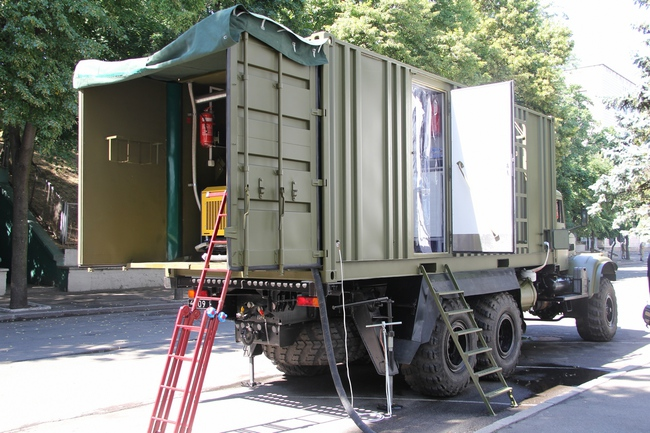 Мобильный банно-прачечный комплекс (МБПК)