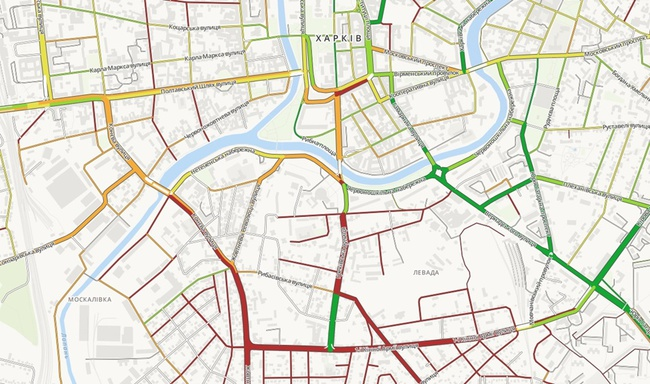 В Харькове составили рейтинг плохих дорог