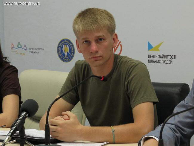 Андрей Мацейко, член правления организации «Киевский городской союз ветеранов АТО»