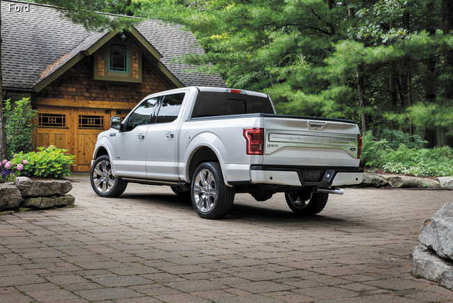 Ford представил топ-версию пикапа F-150 Limited