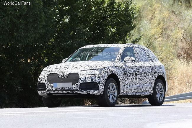 Фотошпионы поймали новый Audi Q5
