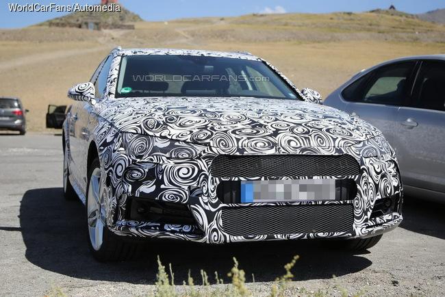 Audi A4 allroad Quattro попался фотошпионам