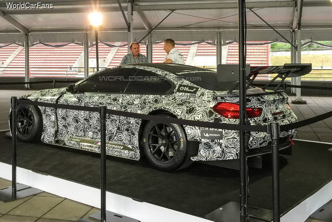 BMW M6 GT3 попала в объективы