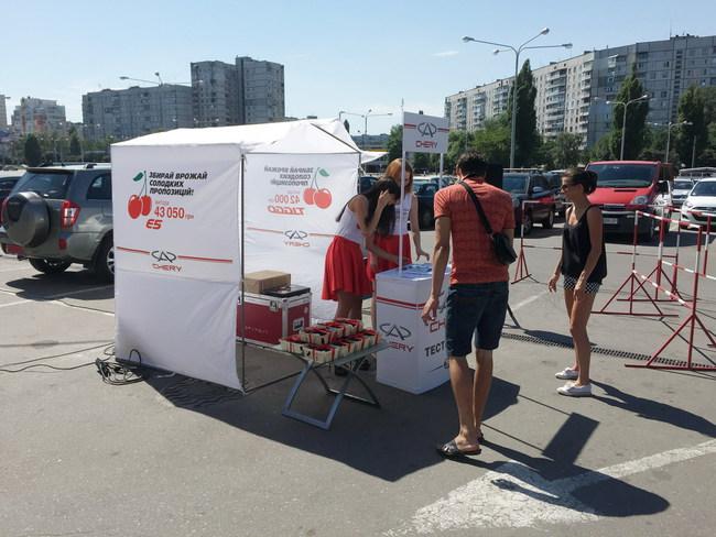 За два уик-энда в Украине проведено более 400 тест-драйвов Chery