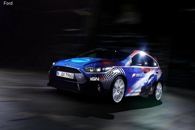 Focus RS посвятили гоночному симулятору Forza Motorsport