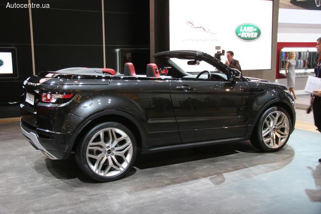 Range Rover обещает кабриолет (+ВИДЕО) Evoque Cabrio