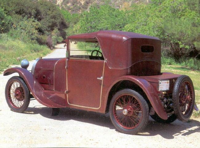 Bugatti Type 23 Opera Coupe от мастерской Gaston Grummer