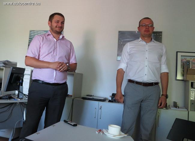 Александр Остапович (слева) и Юрий Колочун