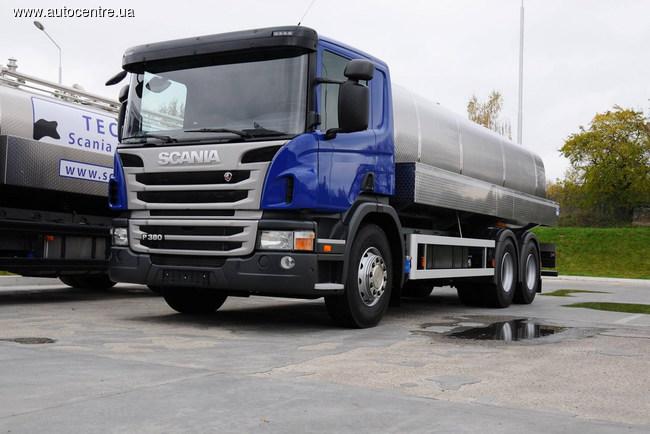 Молоковозы Scania: от Украины до Австралии