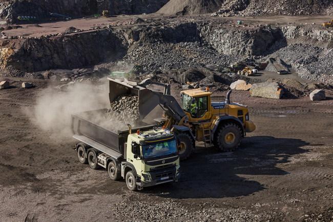 Пять новаций для грузовиков Volvo FMX
