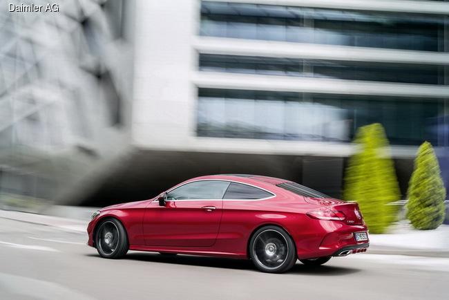 Mercedes-Benz С-Class Coupe готов к презентации (+ВИДЕО)