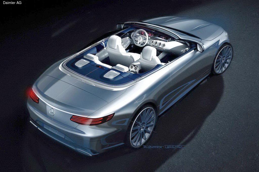 Mercedes-Benz готовит роскошный кабриолет