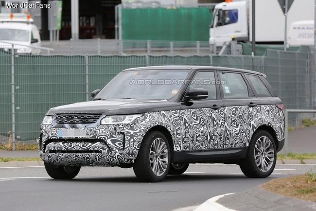 Range Rover готовит рестайлинговый Sport