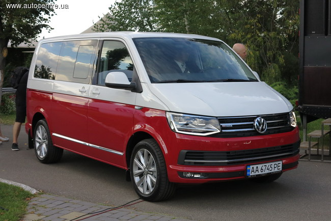 В Украине дебютировали Volkswagen T6 и Caddy 4 (+ВИДЕО)
