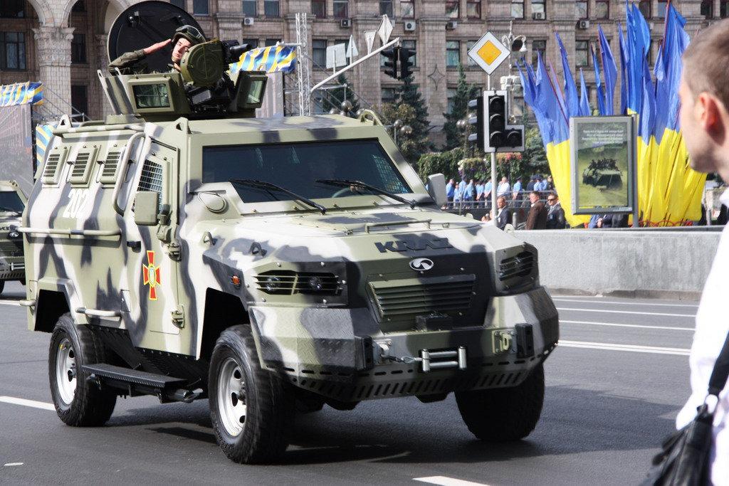 KRAZ Cougar или горный лев в степях Украины