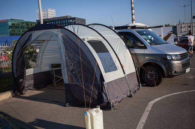 В Украине построили люкс-авто для выезда на природу -  Сolumbus Expedition
