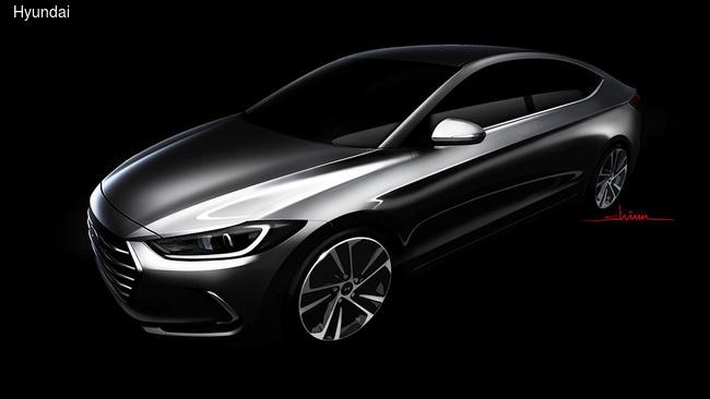 Hyundai Elantra показала салон