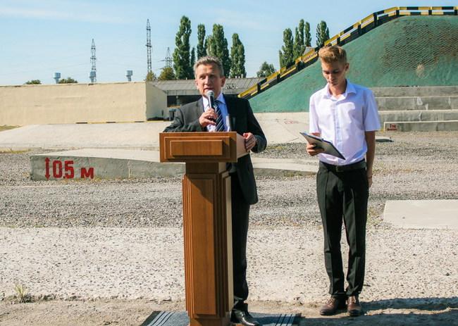Торжества по случаю 70-летия предприятия состоялись на испытательно-демонстрационном полигоне автозавода.