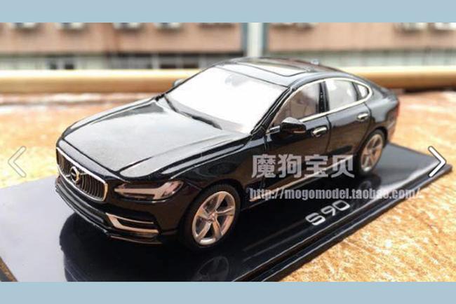 Volvo S90 раскрыли моделисты