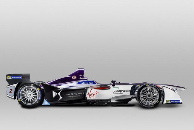 Показан первый болид DS Virgin Racing в фирменном оформлении (+ВИДЕО)