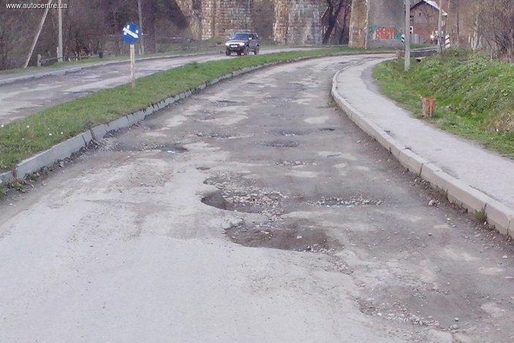 Топ-10 наихудших дорог Украины