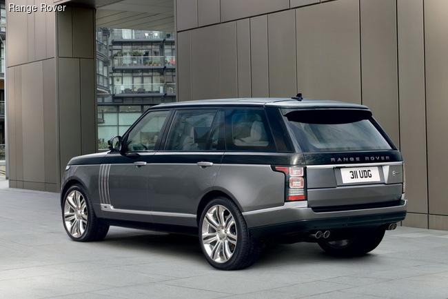 Бронированный Range Rover будет стоить 400 тысяч евро