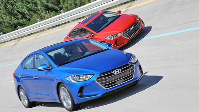 Hyundai Elantra 2016 открыла лицо
