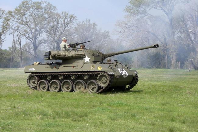 Самоходная установка М-18 Hellcat