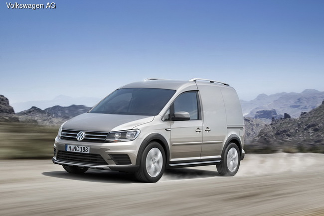 VW Caddy обзавелся версией Alltrack