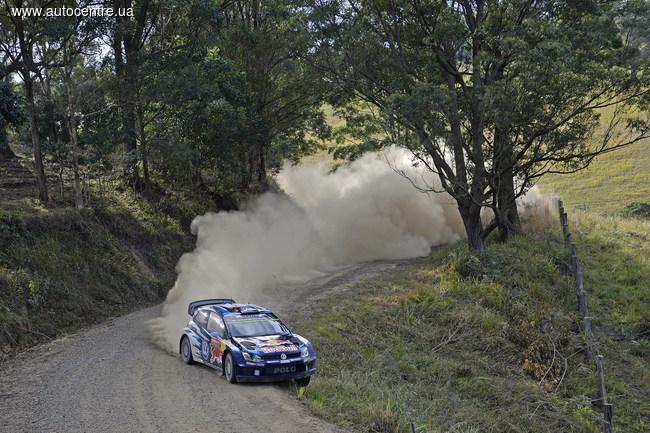 WRC, Ралли Австралии: калейдоскоп событий первого дня австралийского этапа
