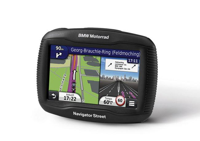 BMW Motorrad представляет навигационную систему Navigator Street