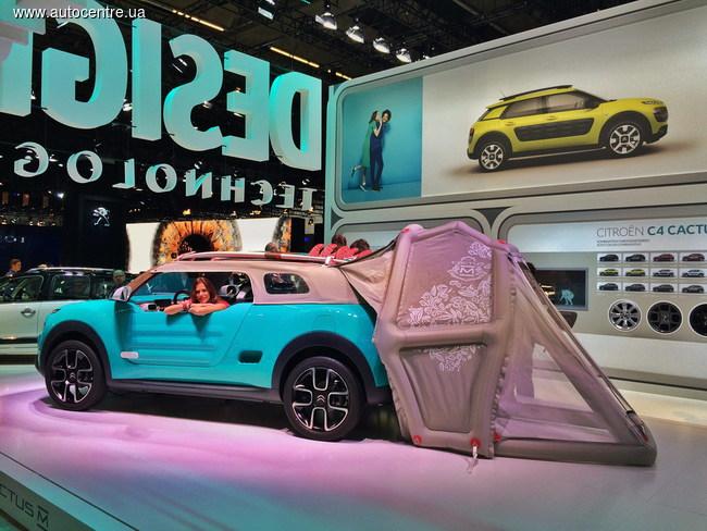 Франкфуртский автосалон 2015: представили наследника внедорожника Mehari - концепт-кар Citroen Cactus M