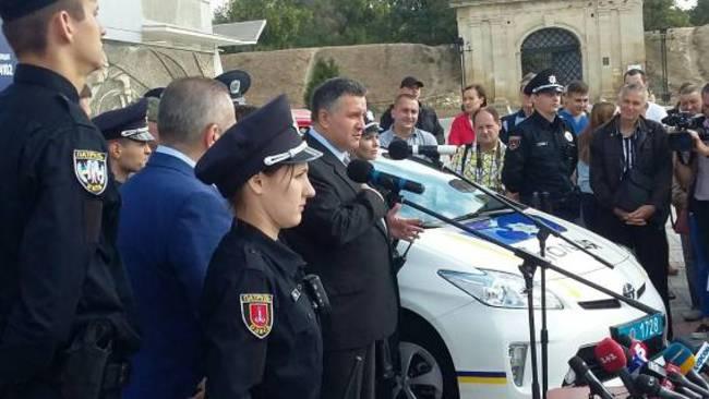 В Херсоне стартовал набор в полицию (+ВИДЕО)