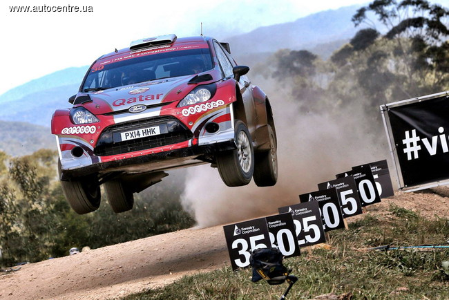 WRC, Ралли Австралии: Юрий Протасов продолжил серию подиумов