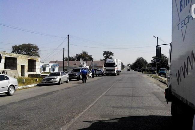 Одесситы перекрыли дорогу на Приднестровье