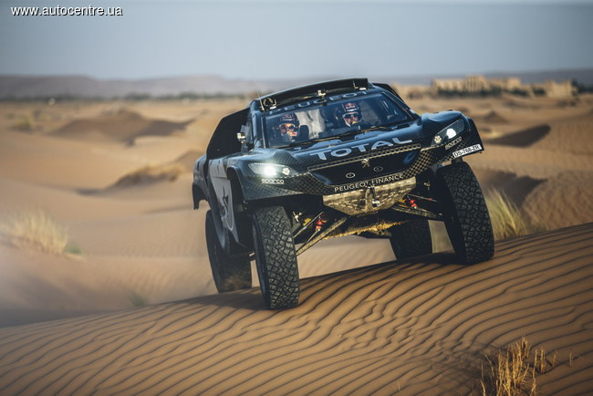 Peugeot представил новый прототип для «Дакара» 2016 года