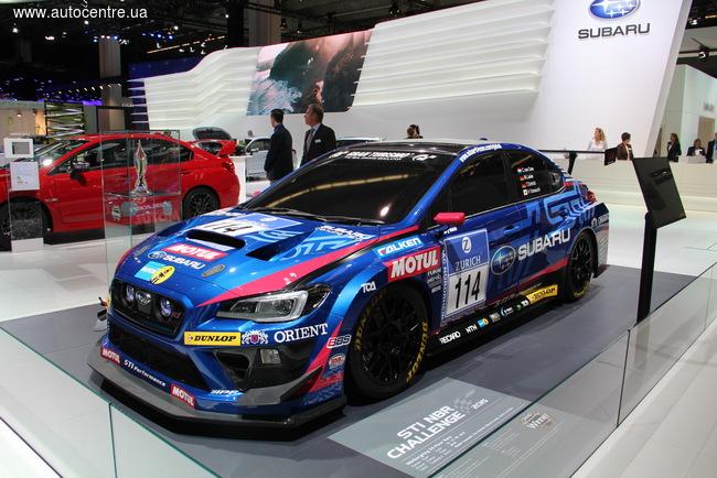 Франкфуртский автосалон 2015: Subaru отметилась универсалом и «боевым» STI NBR